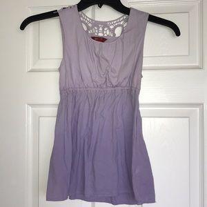 purple ombré blouse